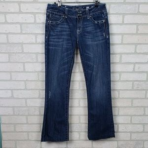 Miss Me Boot Cut Jeans Size 31  Light Distressing